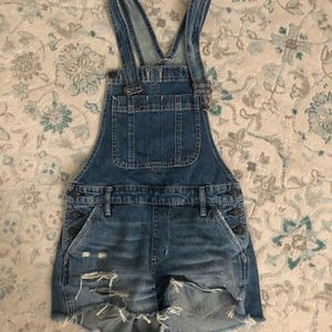 Xs Abercrombie and Fitch overalls